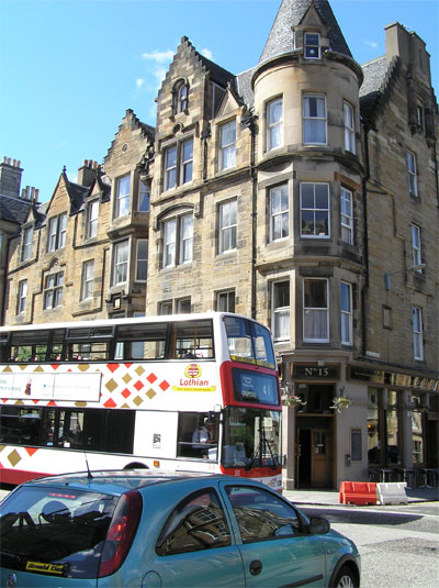 Bus 41 serves Marchmont regularly