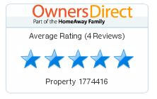 Owners Direct rating for both flats is 5Star